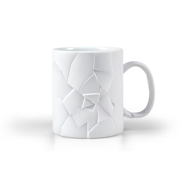 CRACKED UP 'Shattered' Mug